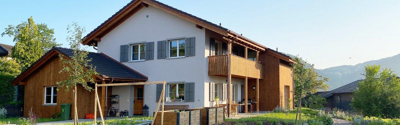 Zimmereiarbeiten Küttigen Neubau EFH