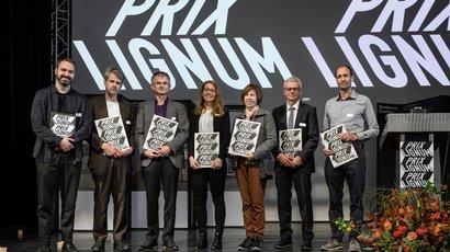 Prix Lignum 2021: Gold für die Wohnüberbauung Maiengasse in Basel