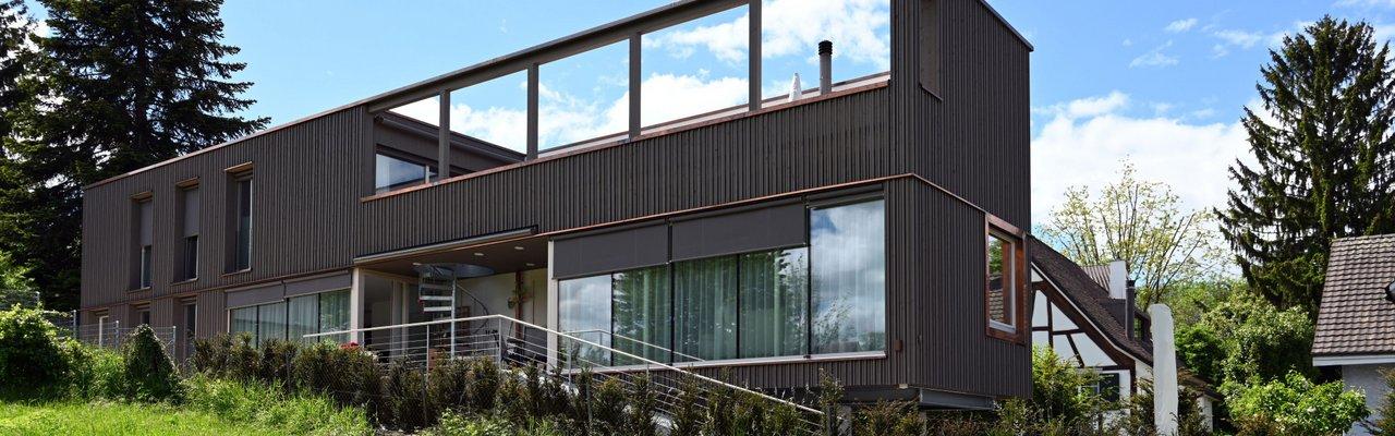 Elementbau Allschwil Neubau EFH Pavillon