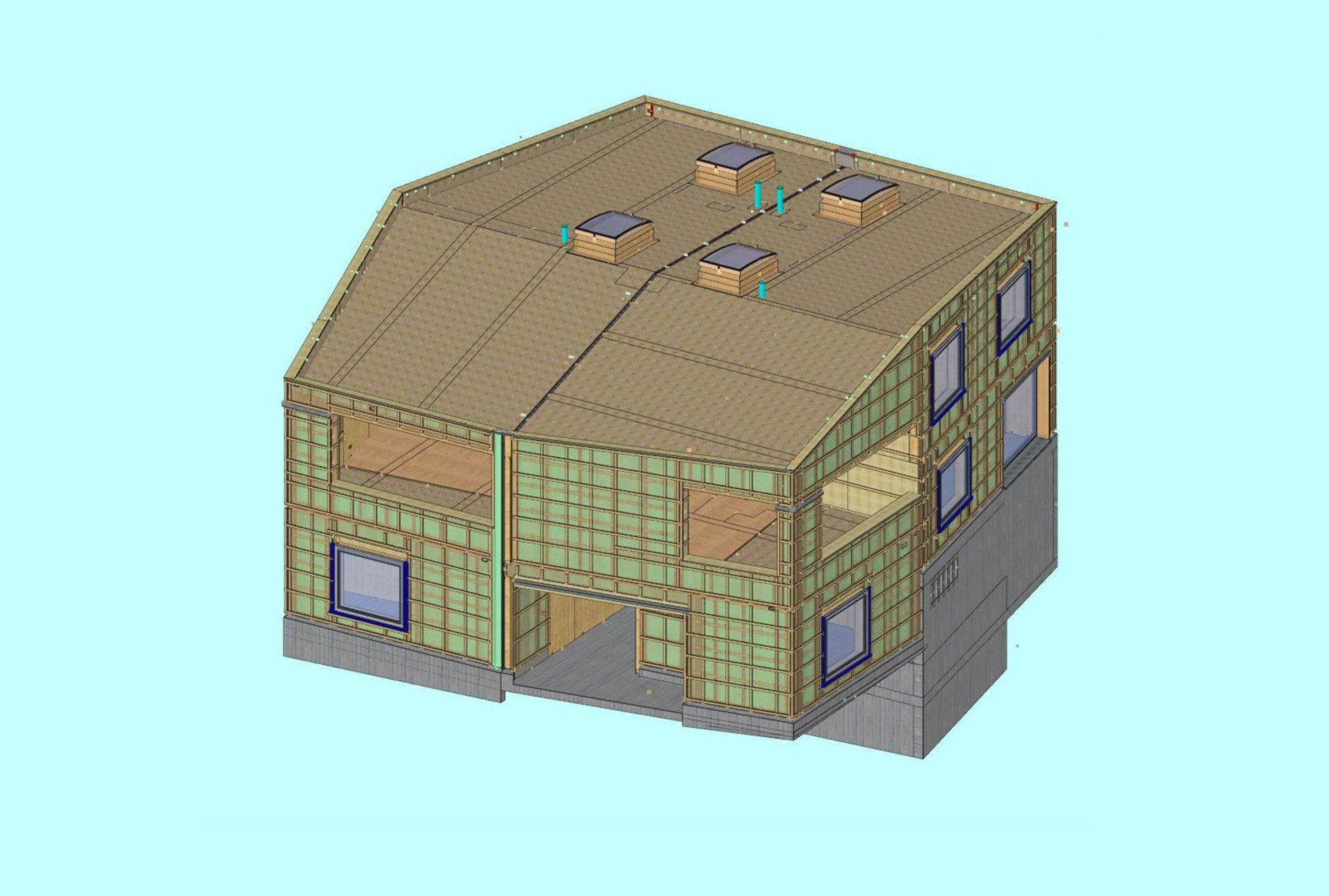 3D Plan Elementbau Wohnüberbauung Leben im Park Gipf-Oberfrick