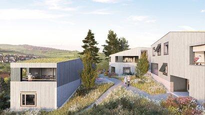 Neubau Arealüberbauung Leben im Park, Gipf-Oberfrick AG