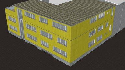 Aufstockung Bürogebäude von HUSNER