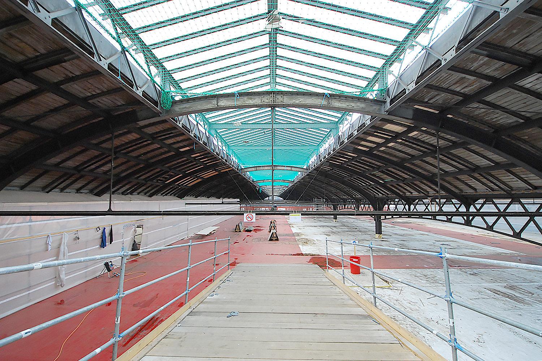 Sanierung Perronhallen SBB, Basel