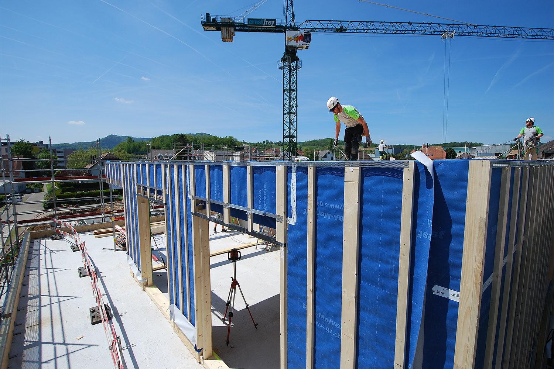 Neubau Arealüberbauung, Frick