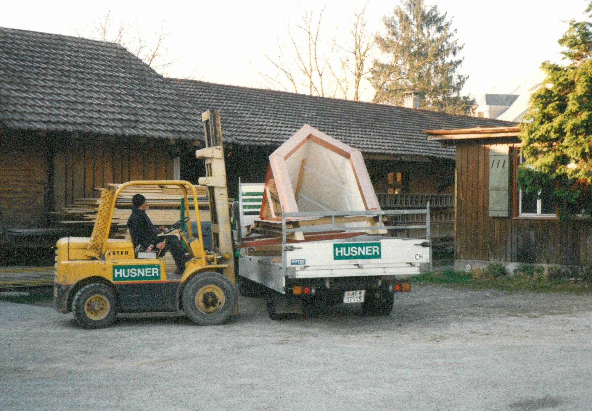 HUSNER Werk an Bahnhofstrasse Frick 1996