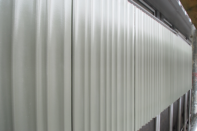 Fassadensanierung mit Keramik