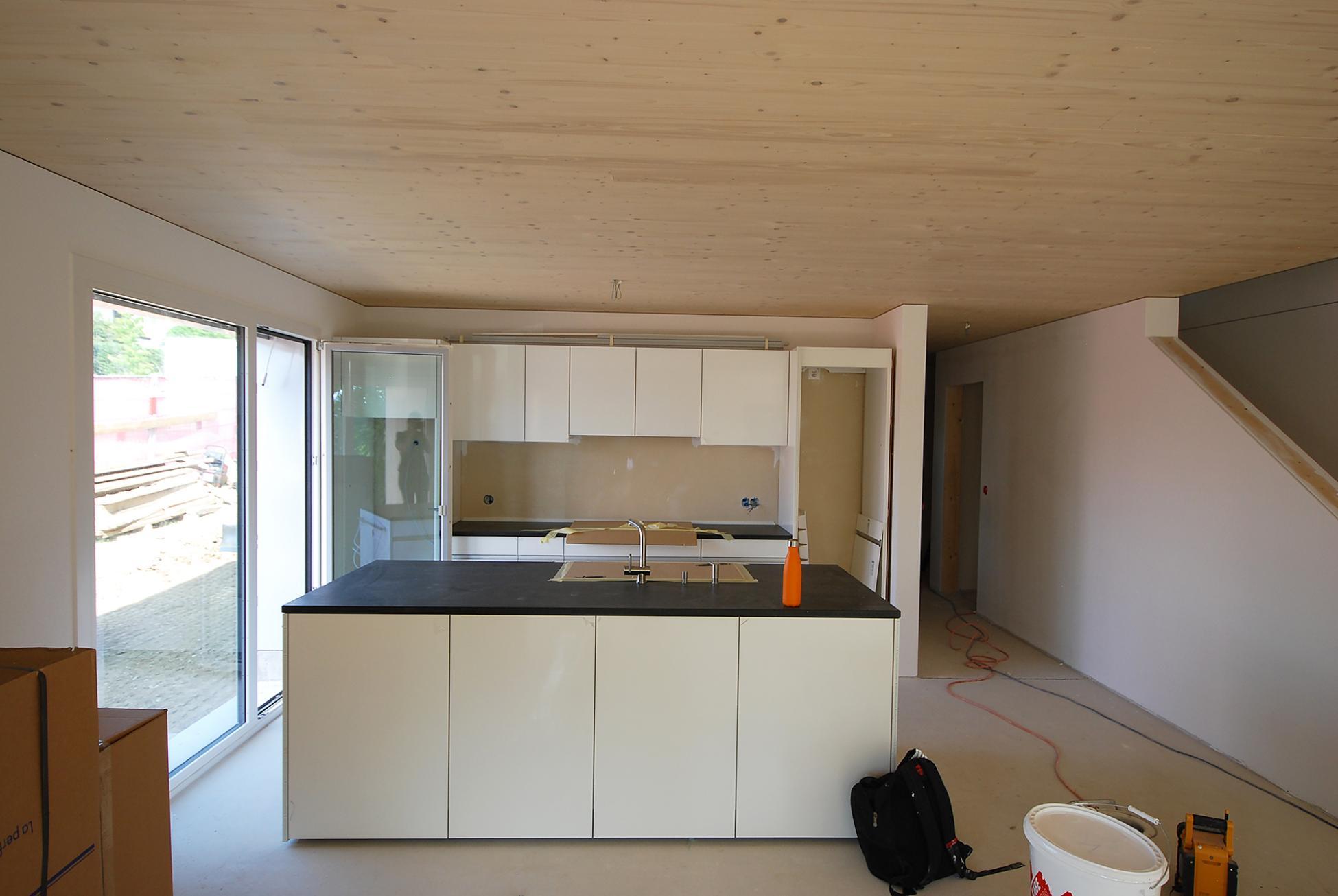 Reiheneinfamilienhäuser Visavie in Sarmenstorf mit offener Wohnküche