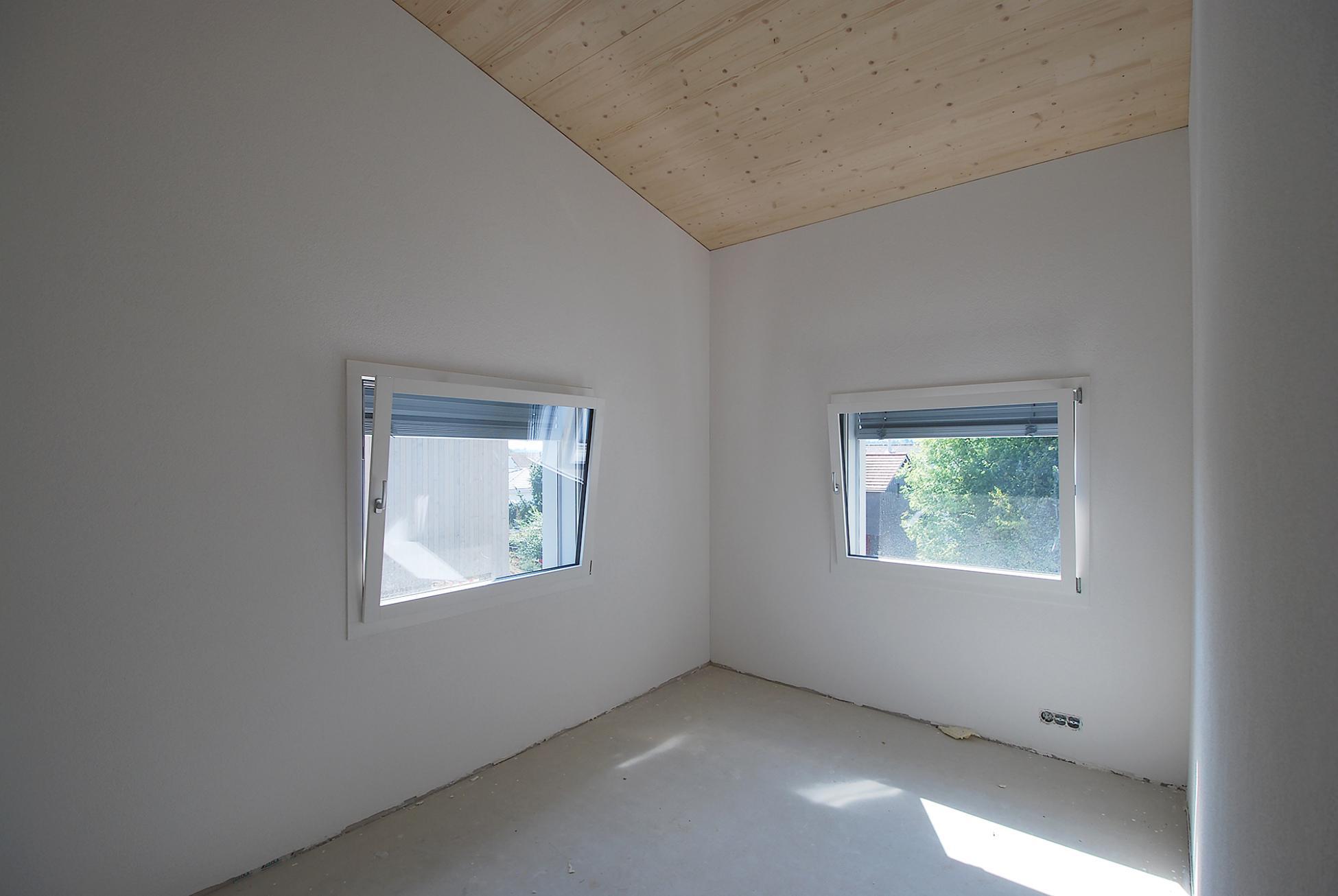Reiheneinfamilienhäuser Visavie in Sarmenstorf mit lichtdurchfluteten Zimmern
