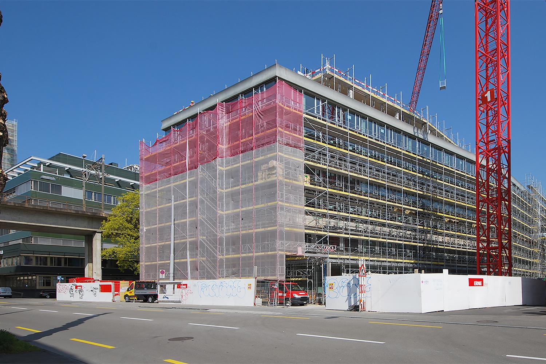 Neubau Kriminalpolizei, Zürich