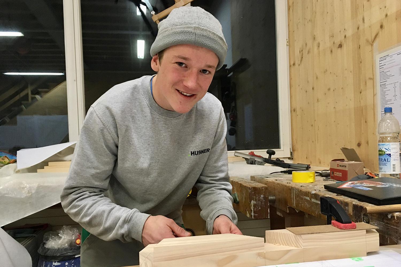 Vorbereitung Lehrlingswettbewerb 2020 Holzbau Schweiz Sektion Aargau
