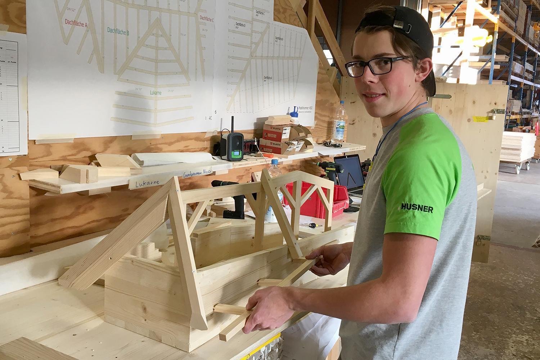 Lehrlingswettbewerb 2020 von Holzbau Schweiz Sektion Aargau
