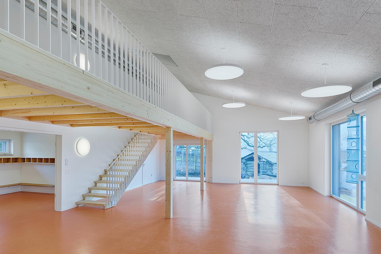 Neubau Kindergarten, Zeihen
