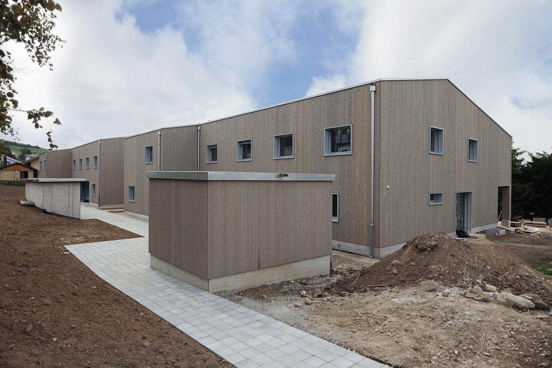 Reiheneinfamilienhäuser visavie, Sarmenstorf